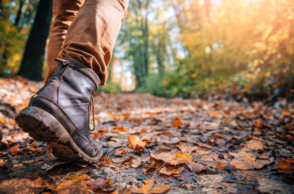 Seasonal self-care~ Find Your Best Footing By Taking Care of Your Senses~